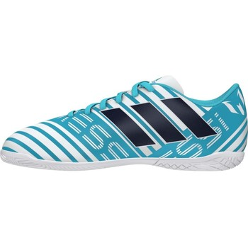 Sapatos Chuteiras adidas Originals NEMEZIZ MESSI JR IN S77208 Azul