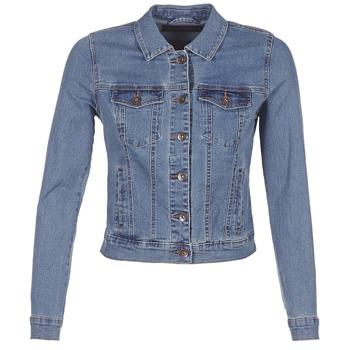 Textil Mulher casacos de ganga Vero Moda VMHOT SOYA Azul