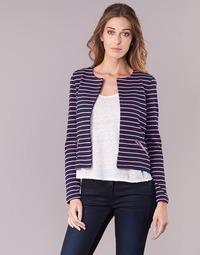Textil Mulher Casacos/Blazers Vero Moda VMULA Marinho / Rosa