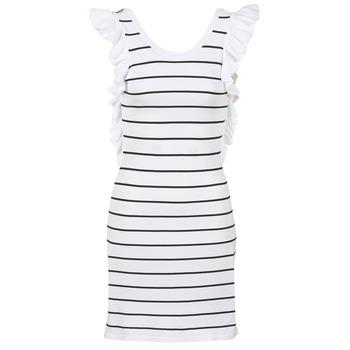 Textil Mulher Vestidos curtos Vero Moda VMABHY Branco / Preto