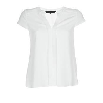 Textil Mulher Tops / Blusas Vero Moda VMTONI Branco