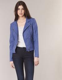 Textil Mulher Casacos de couro/imitação couro Only STEADY Azul