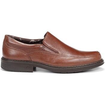 Sapatos Mulher Mocassins Fluchos 9578 Castanho