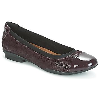 Sapatos Mulher Sabrinas Clarks NEENAH GARDEN Beringela