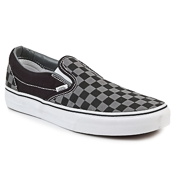 Sapatos Slip on Vans CLASSIC SLIP-ON Preto / Cinza