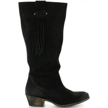 Sapatos Mulher Botas MTNG 94022 Negro