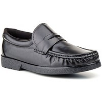 Sapatos Homem Mocassins Sachini Shoes Mocasin de hombre de piel by Sachini Negro