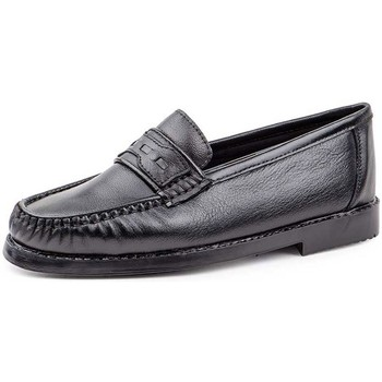 Sapatos Homem Mocassins Sachini Shoes Mocasin de hombre de piel by Cbp Negro