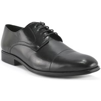 Sapatos Homem Sapatos & Richelieu Marttely Design Zapato de hombre de piel con cordones by Martelly Design Negro