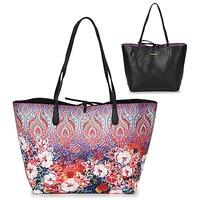 Malas Mulher Cabas / Sac shopping Desigual BOLS_CAPRI FREYA Rosa / Multicolor