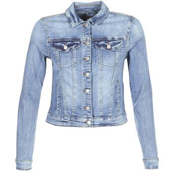 Textil Mulher casacos de ganga Vila VISHOW Azul