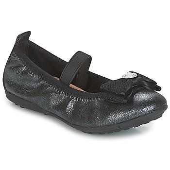 Sapatos Rapariga Sabrinas Geox J PIUMA BALLERINES Preto