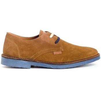 Sapatos Homem Sapatos Colour Feet HATARI Castanho