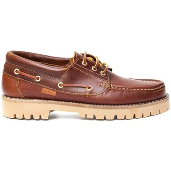 Sapatos Homem Sapato de vela Colour Feet NAUTIC Castanho