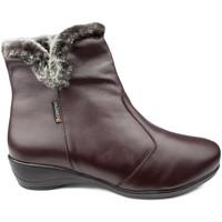 Sapatos Mulher Mocassins Calzamedi BOOTS  DIABETICS DOUBLE SCALES ZIPPER W MARROM