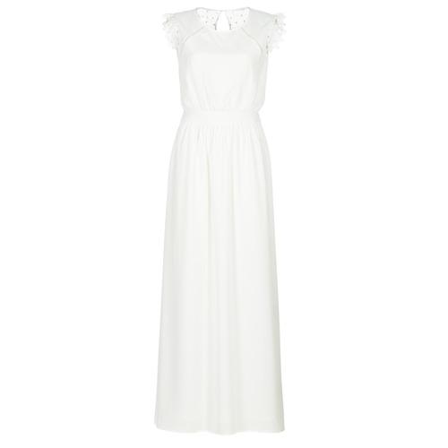Textil Mulher Vestidos compridos Betty London ILOVEYOU Branco