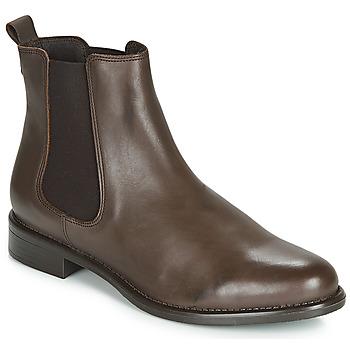 Sapatos Mulher Botas baixas Betty London  Castanho