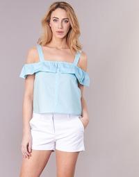 Textil Mulher Tops / Blusas Moony Mood IFARANDOL Azul