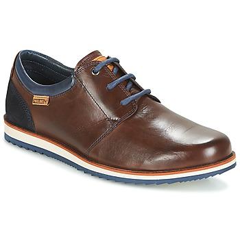 Sapatos Homem Sapatos Pikolinos BIARRITZ M5A Castanho / Azul