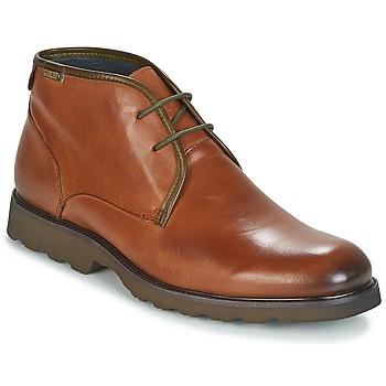 Sapatos Homem Botas baixas Pikolinos GLASGOW M05 Castanho