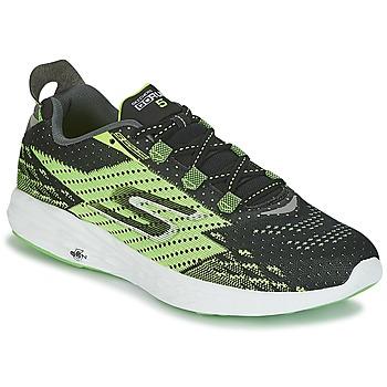 Sapatos Homem Sapatilhas de corrida Skechers Go Run 5 Preto / Verde