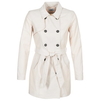 Textil Mulher Trench Only LUCY Bege