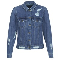 Textil Mulher casacos de ganga Only BECKY Azul