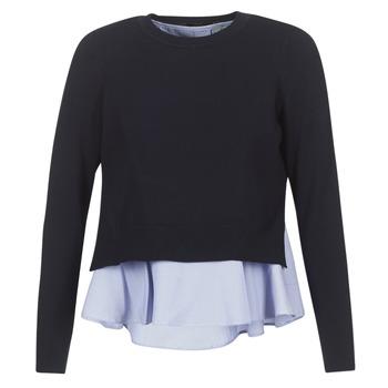 Textil Mulher camisolas Only LATISHA Marinho