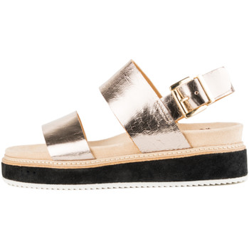 Sapatos Mulher Sandálias Only 2 Me Theresa Gold Cracked Gold