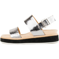 Sapatos Mulher Sandálias Only 2 Me Theresa Silver Cracked Silver