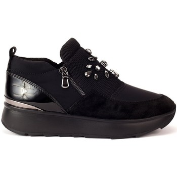 Sapatos Mulher Slip on Geox Gendry Preto