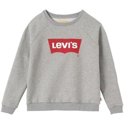 Textil Rapariga Sweats Levi's SWEAT CREWN CHINA GREY cinza