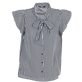 Textil Mulher Tops / Blusas Only ELENA Preto / Branco