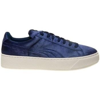 Sapatos Mulher Sapatilhas Puma Vikky Platform VR BL Azul marinho