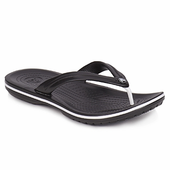 Sapatos Chinelos Crocs CROCBAND FLIP Preto