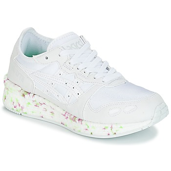 Sapatos Criança Sapatilhas Asics HYPER GEL-LYTE GS Branco / Rosa / Verde