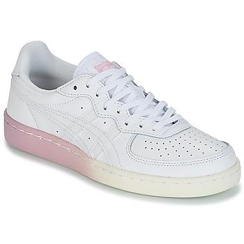 Sapatos Mulher Sapatilhas Onitsuka Tiger GSM LEATHER Branco / Rosa