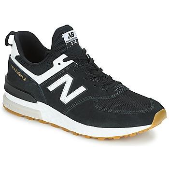 Sapatos Homem Sapatilhas New Balance MS574 Preto