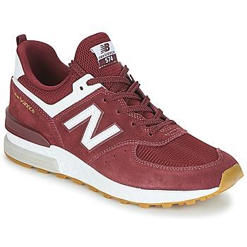 Sapatos Homem Sapatilhas New Balance MS574 Bordô