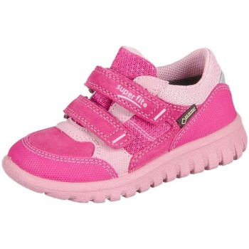 Sapatos Criança Sapatilhas Superfit Sport Mini Pink Kombi Velour Tecno Textil Cor-de-rosa