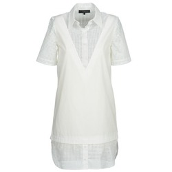 Textil Mulher Vestidos curtos American Retro CHARLOTTE Branco