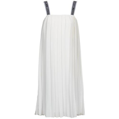 Textil Mulher Vestidos compridos American Retro VERO LONG Branco