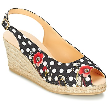 Sapatos Mulher Sandálias Desigual LALAINA Preto
