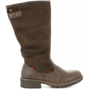 Sapatos Mulher Botas Refresh 63872 Marrón