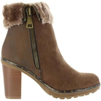 Sapatos Mulher Botins Refresh 64014 Marrón
