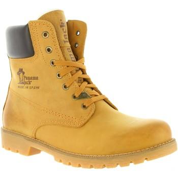 Sapatos Homem Botas baixas Panama Jack PANAMA 03 IGLOO C10 NAPA VINTAGE Beige