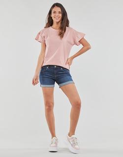Textil Mulher Shorts / Bermudas Yurban INYUTE Azul / Escuro