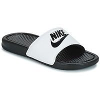 Sapatos Homem chinelos Nike BENASSI JUST DO IT Branco / Preto