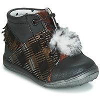 Sapatos Rapariga Sapatilhas de cano-alto Catimini PEPITA Preto - cobre