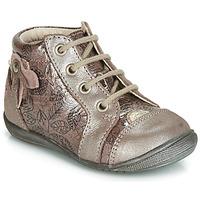 Sapatos Rapariga Sapatilhas de cano-alto GBB NICOLE Madeira / Rosa